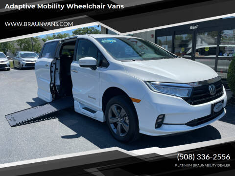 2021 Honda Odyssey for sale at Adaptive Mobility Wheelchair Vans in Seekonk MA