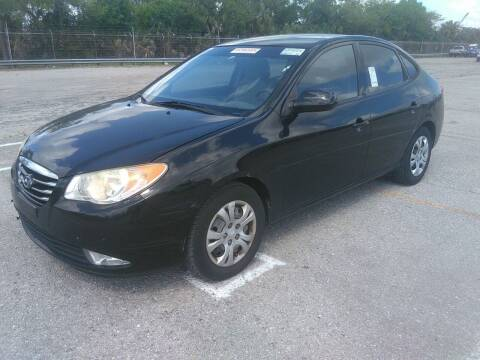 2010 Hyundai Elantra for sale at L G AUTO SALES in Boynton Beach FL