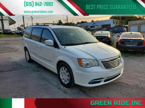2014 Chrysler Town and Country for sale at Green Ride Inc in Nashville TN