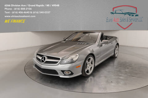 2009 Mercedes-Benz SL-Class for sale at Elvis Auto Sales LLC in Grand Rapids MI
