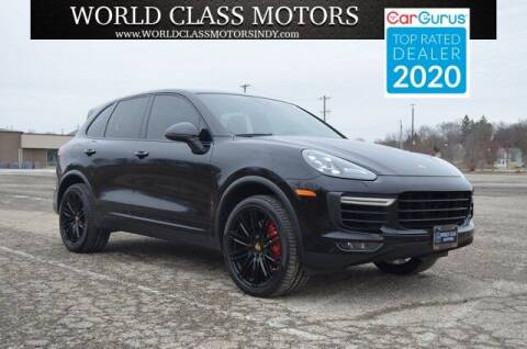 2015 Porsche Cayenne for sale at World Class Motors LLC in Noblesville IN