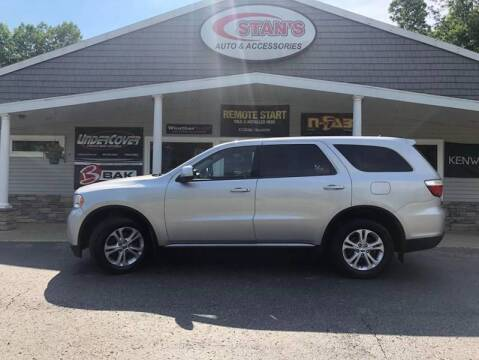 2013 Dodge Durango for sale at Stans Auto Sales in Wayland MI