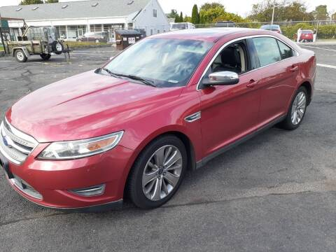 2010 Ford Taurus for sale at Deluxe Auto Sales Inc in Ludlow MA