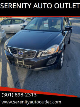 2012 Volvo XC60 for sale at SERENITY AUTO OUTLET in Frederick MD