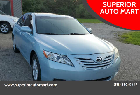 2009 Toyota Camry for sale at SUPERIOR AUTO MART in Amelia OH