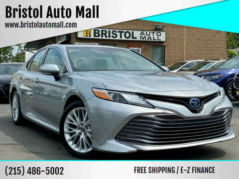2018 Toyota Camry Hybrid for sale at Bristol Auto Mall in Levittown PA