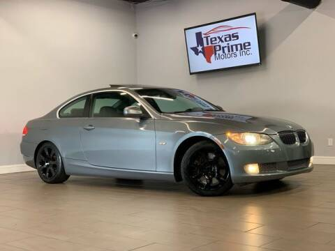 2010 BMW 3 Series for sale at Texas Prime Motors in Houston TX