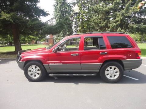 2001 Jeep Grand Cherokee for sale at TONY'S AUTO WORLD in Portland OR