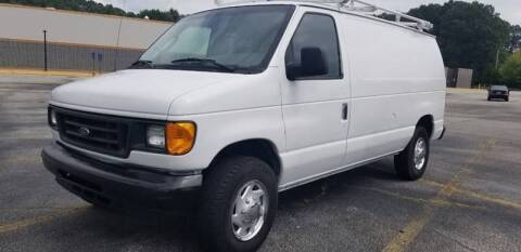 2006 Ford E-Series Cargo for sale at Pendergrass Public Auto Auction in Pendergrass GA