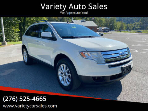 2009 Ford Edge for sale at Variety Auto Sales in Abingdon VA