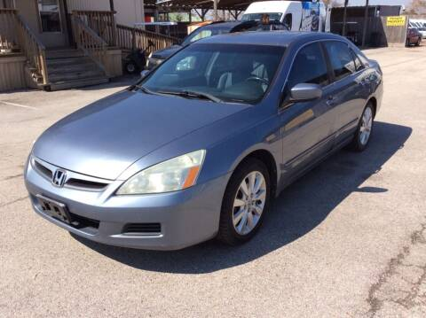 2007 Honda Accord for sale at OASIS PARK & SELL in Spring TX