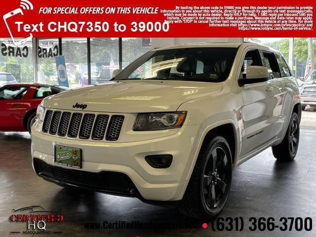 2015 Jeep Grand Cherokee for sale at CERTIFIED HEADQUARTERS in Saint James NY