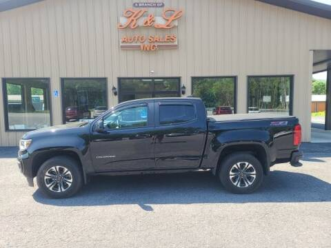 2021 Chevrolet Colorado for sale at K & L AUTO SALES, INC in Mill Hall PA