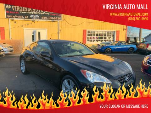 2011 Hyundai Genesis Coupe for sale at Virginia Auto Mall in Woodford VA