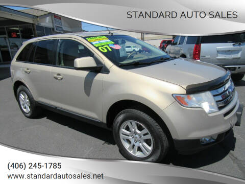 2007 Ford Edge for sale at Standard Auto Sales in Billings MT