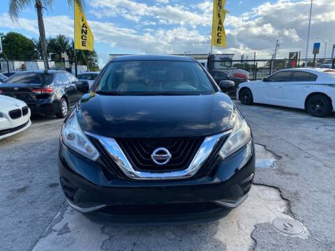 2016 Nissan Murano for sale at America Auto Wholesale Inc in Miami FL