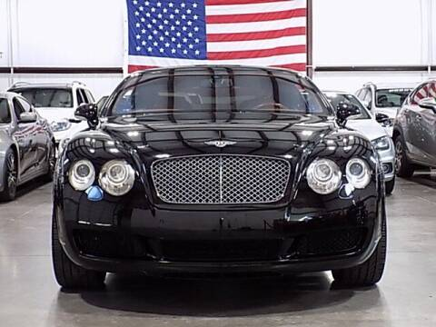 2005 Bentley Continental for sale at Texas Motor Sport in Houston TX