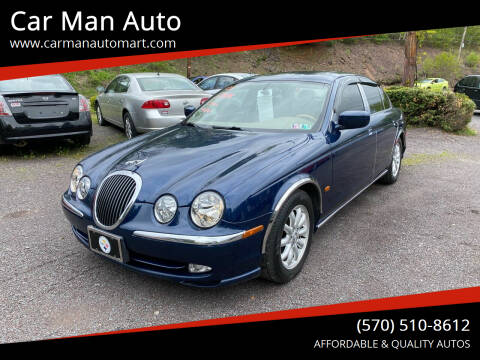 2001 Jaguar S-Type for sale at Car Man Auto in Old Forge PA