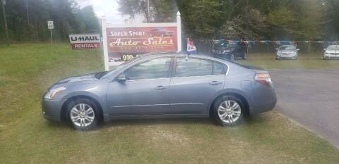 2010 Nissan Altima for sale at Super Sport Auto Sales in Hope Mills NC