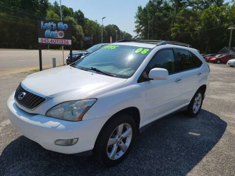 2008 Lexus RX 350 for sale at Let's Go Auto in Florence SC