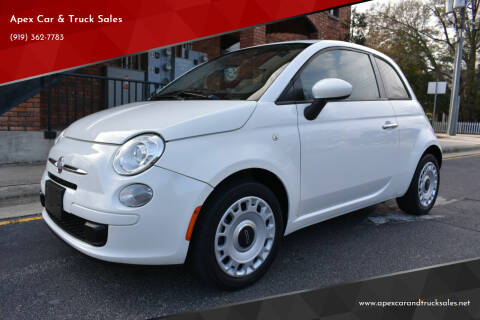 2015 FIAT 500 for sale at Apex Car & Truck Sales in Apex NC