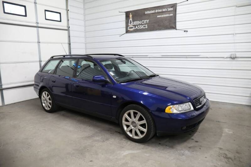 2001 Audi A4 for sale at Queen City Classics in West Chester OH