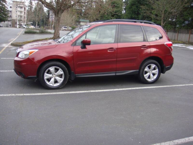 2015 Subaru Forester for sale at Western Auto Brokers in Lynnwood WA