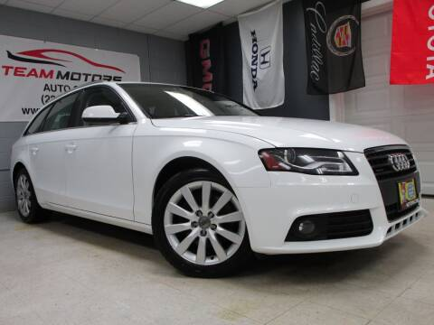 2011 Audi A4 for sale at TEAM MOTORS LLC in East Dundee IL