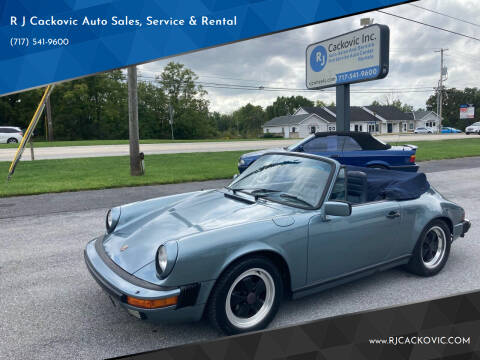 1984 Porsche 911 for sale at R J Cackovic Auto Sales, Service & Rental in Harrisburg PA