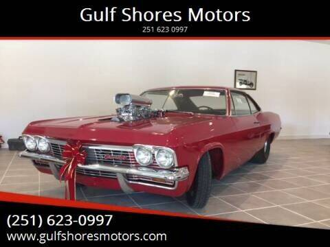 1965 Chevrolet Impala for sale at Gulf Shores Motors in Gulf Shores AL