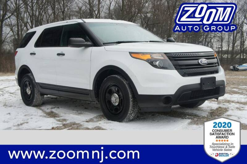 2014 Ford Explorer for sale at Zoom Auto Group in Parsippany NJ