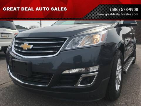 2014 Chevrolet Traverse for sale at GREAT DEAL AUTO SALES in Center Line MI