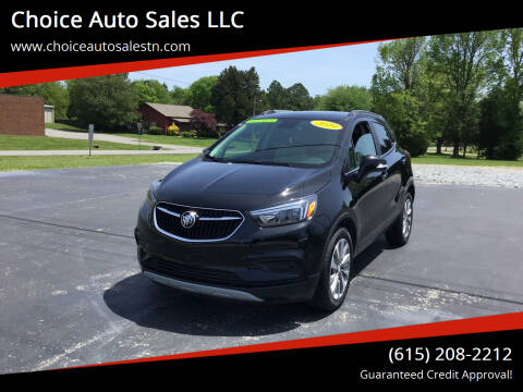 2019 Buick Encore for sale at Choice Auto Sales LLC - Cash Inventory in White House TN