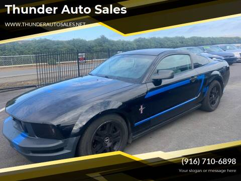 2007 Ford Mustang for sale at Thunder Auto Sales in Sacramento CA