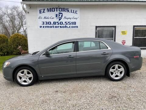 2009 Chevrolet Malibu for sale at EZ Motors in Deerfield OH