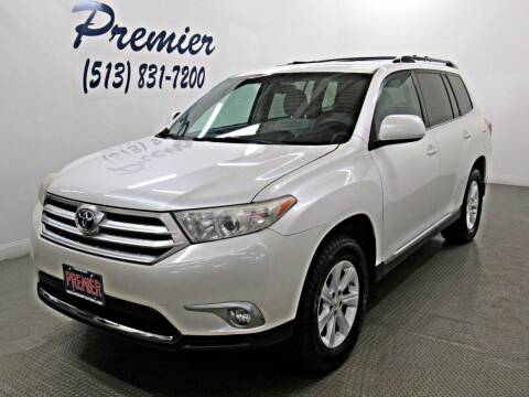 2012 Toyota Highlander for sale at Premier Automotive Group in Milford OH