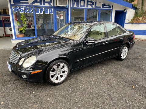 2009 Mercedes-Benz E-Class for sale at Car World Inc in Arlington VA