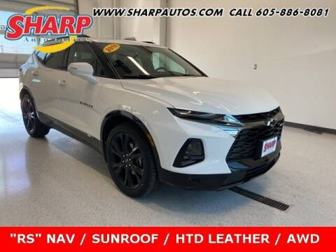 2019 Chevrolet Blazer for sale at Sharp Automotive in Watertown SD