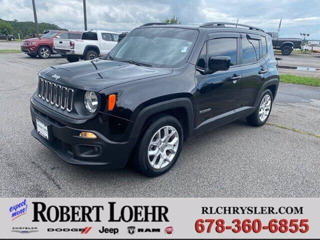 2018 Jeep Renegade for sale at Robert Loehr Chrysler Dodge Jeep Ram in Cartersville GA