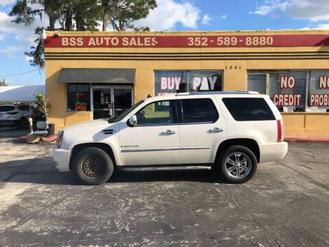 2008 Cadillac Escalade for sale at BSS AUTO SALES INC in Eustis FL