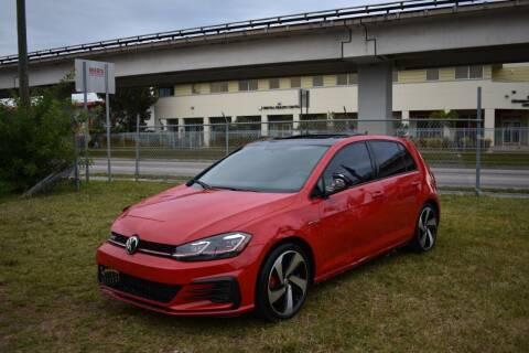 2019 Volkswagen Golf GTI for sale at STS Automotive - Miami, FL in Miami FL