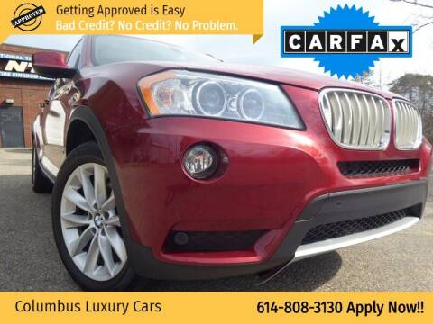 2012 BMW X3 for sale at Columbus Luxury Cars in Columbus OH