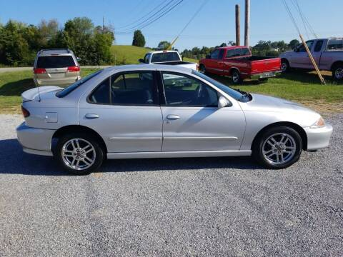 2002 Chevrolet Cavalier for sale at CAR-MART AUTO SALES in Maryville TN