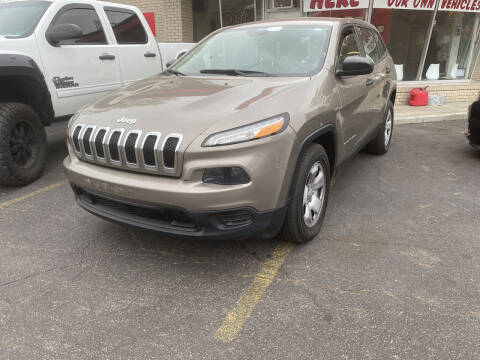 2016 Jeep Cherokee for sale at Right Place Auto Sales in Indianapolis IN