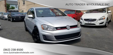 2015 Volkswagen Golf GTI for sale at Auto Trader Wholesale Inc in Saddle Brook NJ
