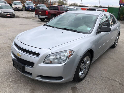 2012 Chevrolet Malibu for sale at Sonny Gerber Auto Sales in Omaha NE