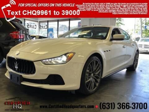 2015 Maserati Ghibli for sale at CERTIFIED HEADQUARTERS in Saint James NY