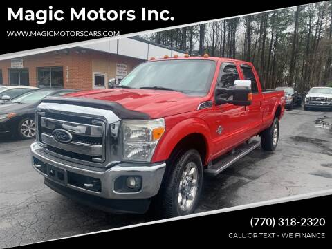2011 Ford F-350 Super Duty for sale at Magic Motors Inc. in Snellville GA