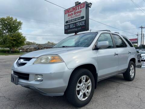2004 Acura MDX for sale at Unlimited Auto Group in West Chester OH