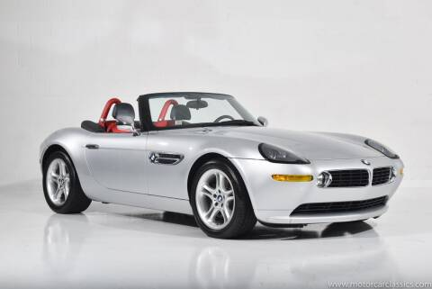 2002 BMW Z8 for sale at Motorcar Classics in Farmingdale NY